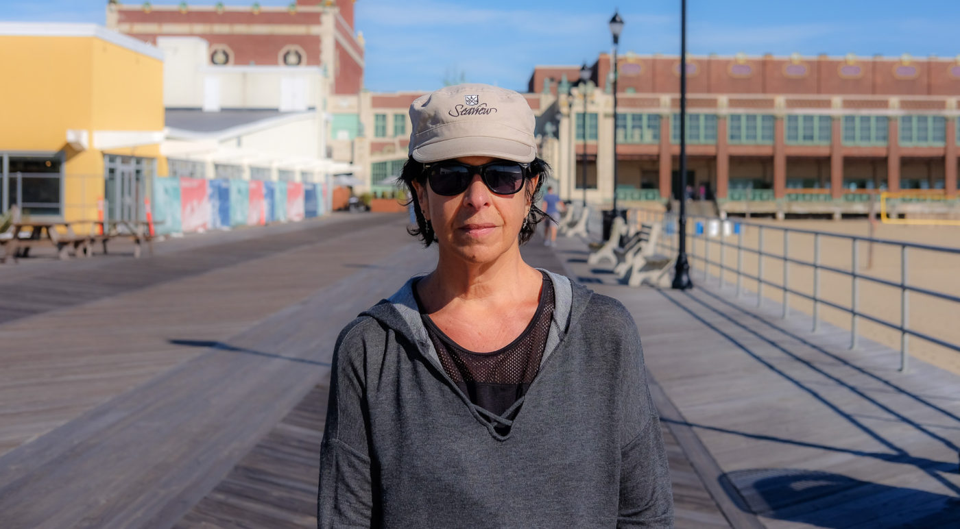 Portraits of the Jersey Shore Asbury Park Widow Wife Lost Husband to Cancer Memorializes through his Artwork Gallery