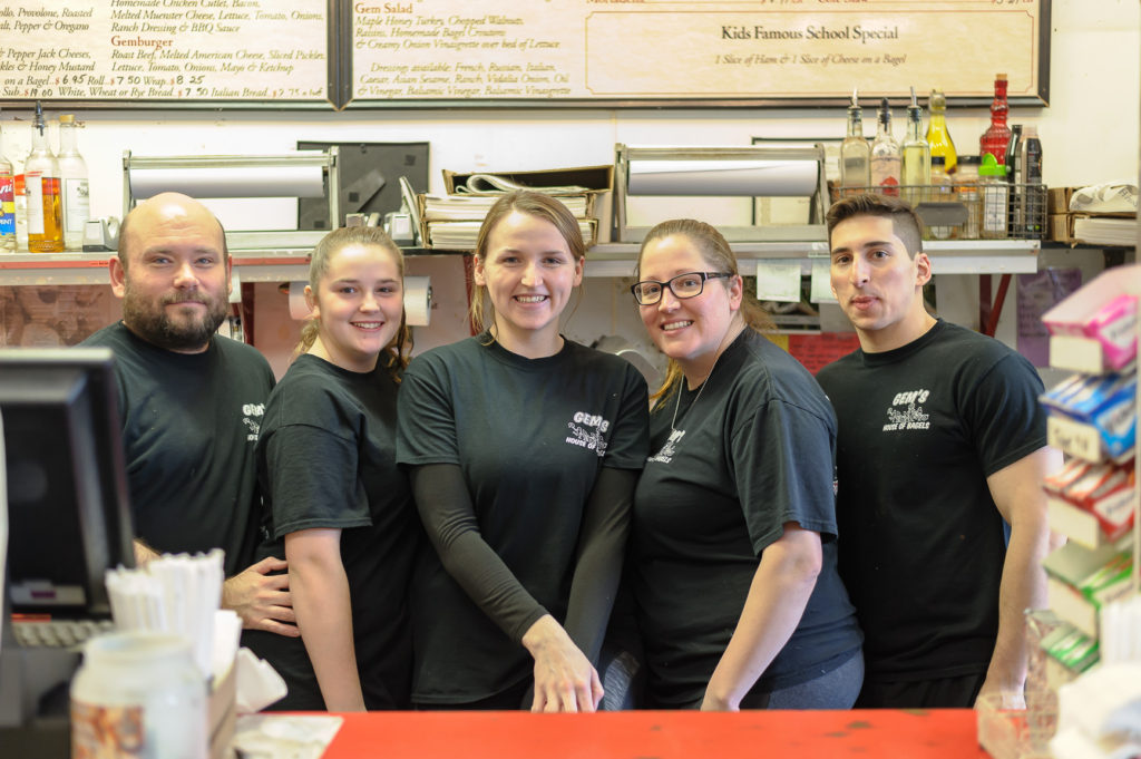 Portraits of the Jersey Shore Hazlet Gems Bagels Promotion Staff_