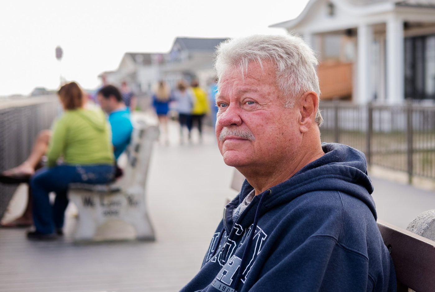 Portraits of the Jersey Shore Point Pleasant Retired Police Officer
