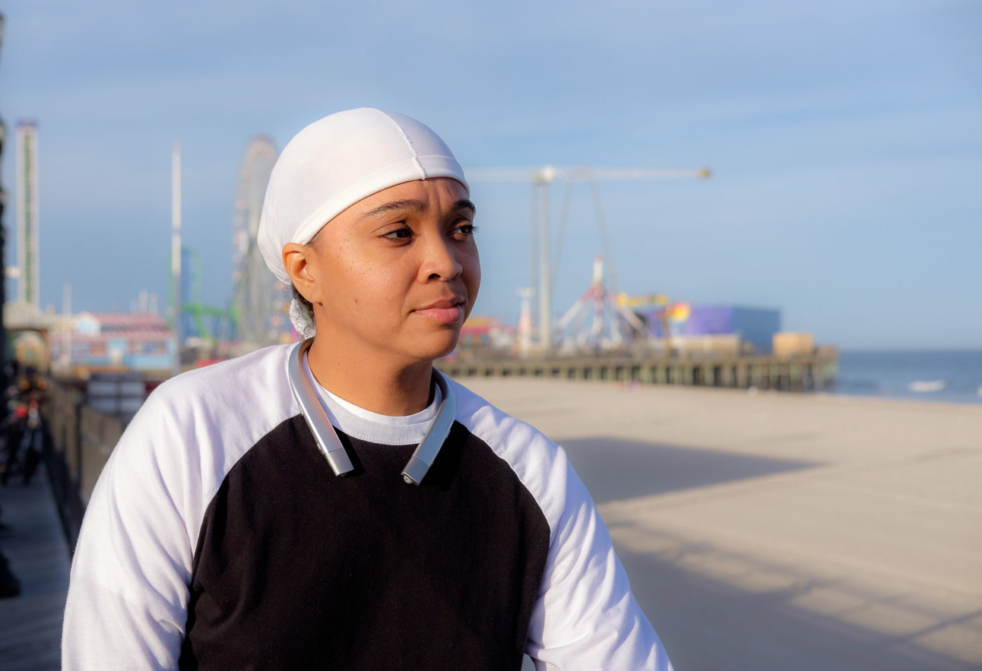 Portraits of the Jersey Shore Seaside Heights African American Discusses Being Victim of Prejudice and Racism-