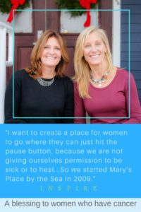 A blessing to women with cancer. A unique idea to give women battling chronic illnesses a place to go to rest, recover and pray. #inspire #inspirational #cancer #womencancer #portraitsofthejerseyshore