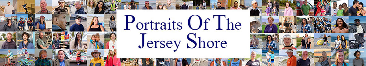 Portraits of the Jersey Shore header graphic