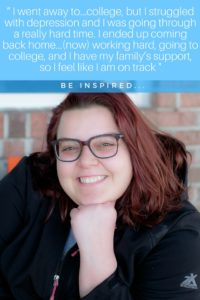college depression to new outlook #college #stories #inspire #inspired #family #portraitofthejerseyshore