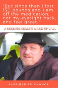 Health crisis and big changes, he changed his life and health by taking action. #inspiration #weightloss #diabetes #health #inspire #portraitsofthejerseyshore