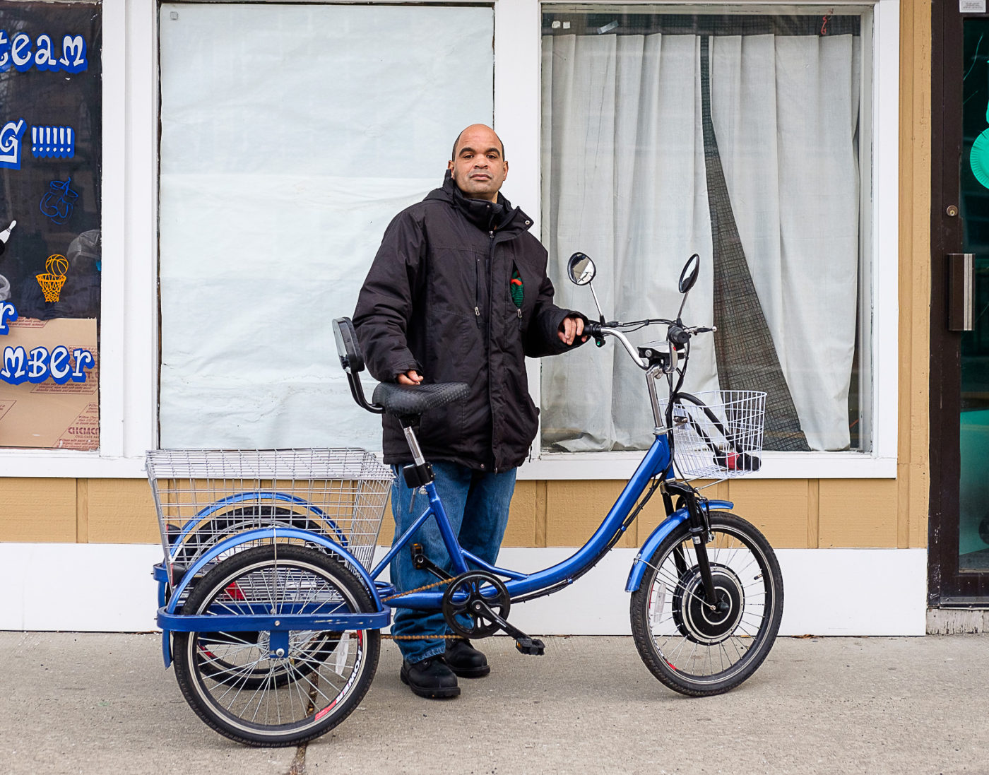 Tricycle trend setter - Portraits of the Jersey Shore